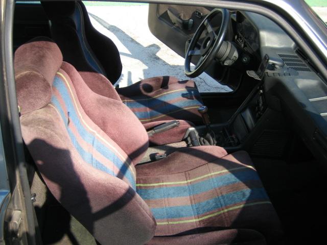 Bmw 2002 seat fabric