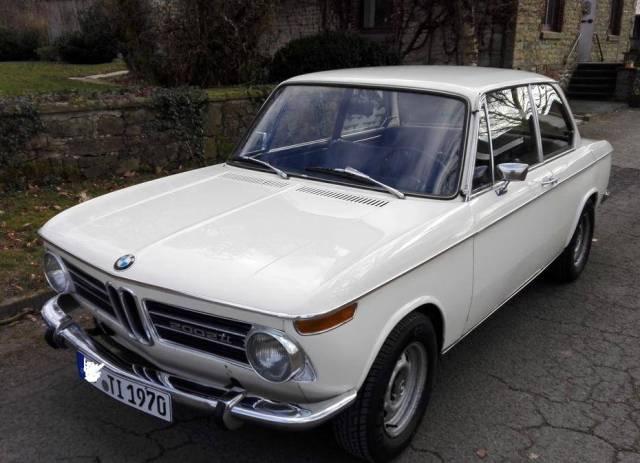 BMW 2002 TI TII TURBO 1970 1971 1972 EXTERIOR TRIM GRILLE COVERING SCHWARZ N.O.S